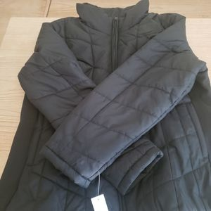 NWT Black NY and CO puffer jacket